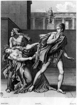Phaedra, Oenone and Hippolytus